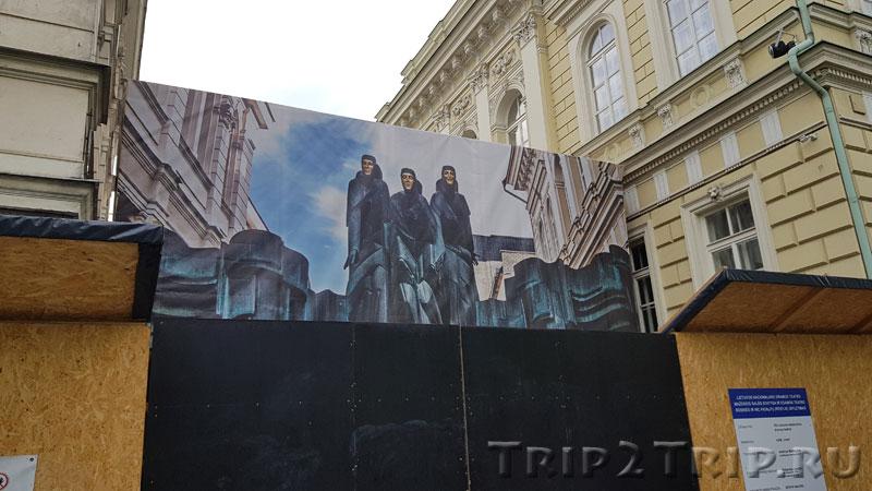 Литовский национальный театр драмы, проспект Гедимина, Вильнюс