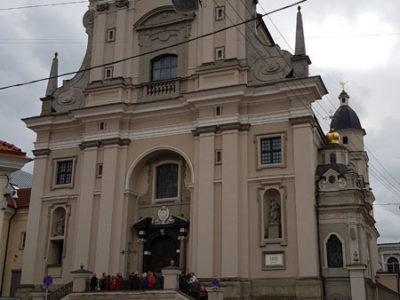 Костёл Святой Терезы, улица Зари, Вильнюс