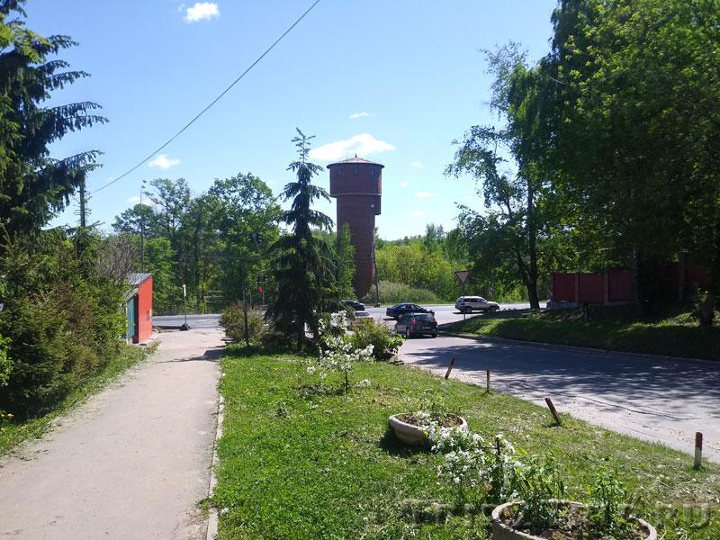 Водонапорная башня у станции, Икша