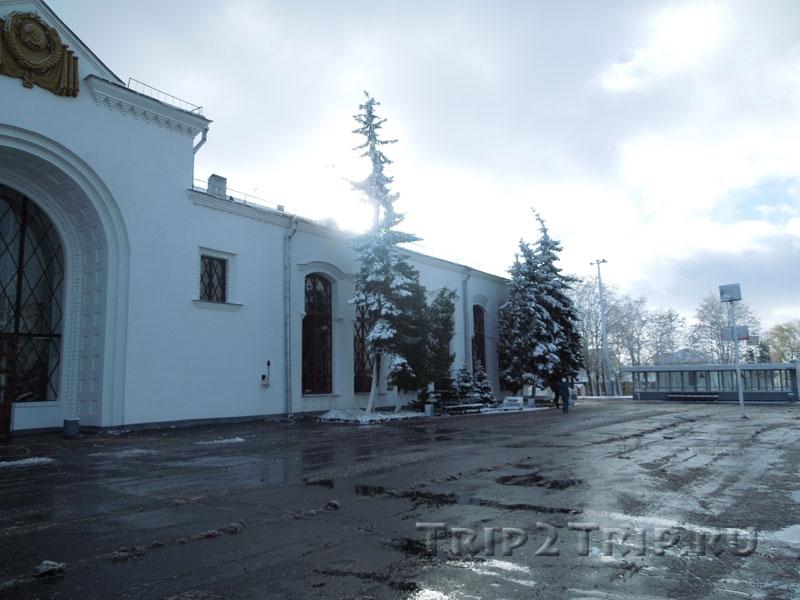 ЖД вокзал, Великий Новгород