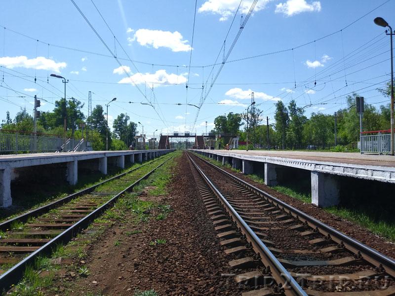 Железнодорожная станция, Икша
