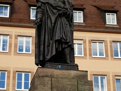 Памятник Дюреру, Нюрнберг