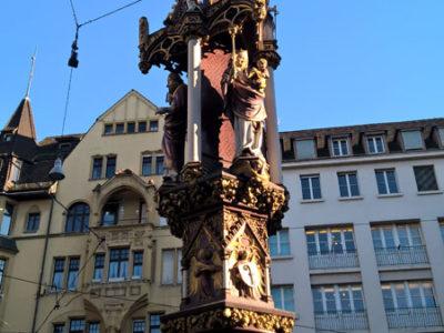 Фонтан на Рыбном Рынке (Fischmarktbrunnen), Базель