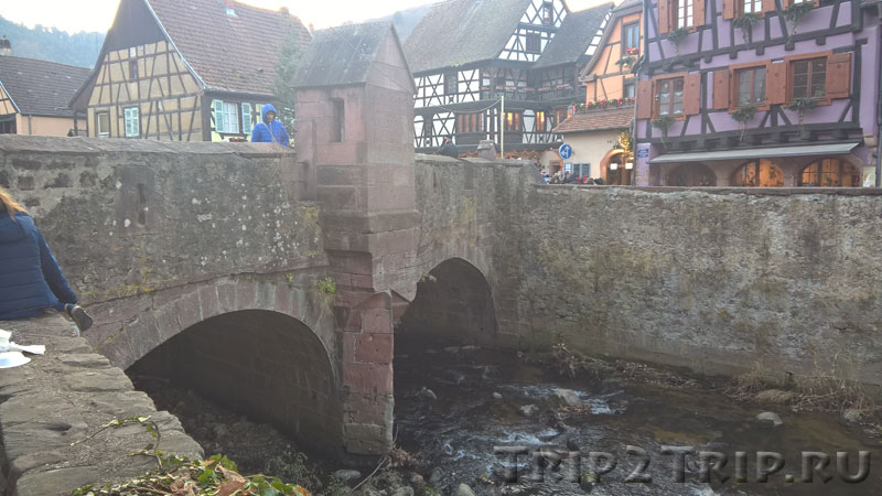 Мост через ручей Вайс с часовней, Кайзерсберг