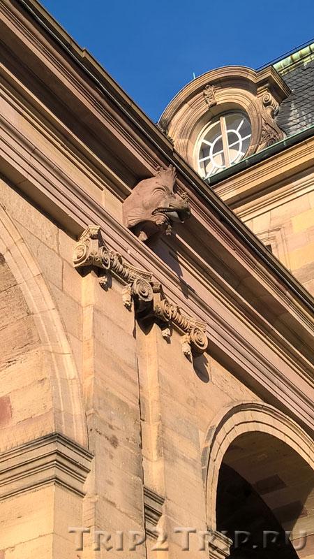 Дворец Роган (деталь), Страсбург