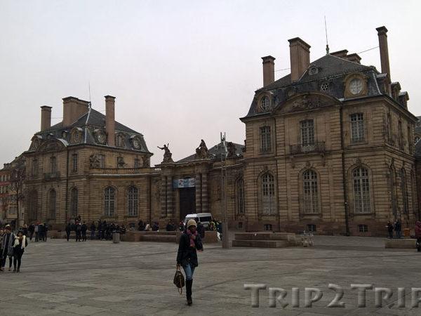 Дворец Рогана, Соборная площадь, Страсбург