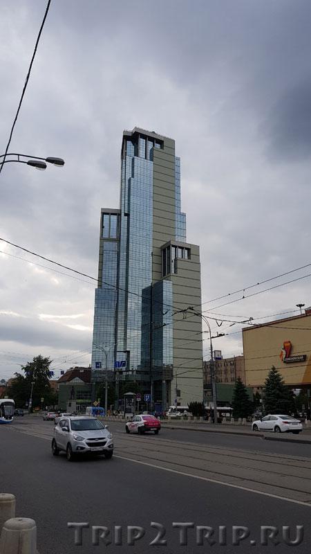 """Бизнес-центр """"Соколиная Гора"""", Семёновская площадь, Москва"""