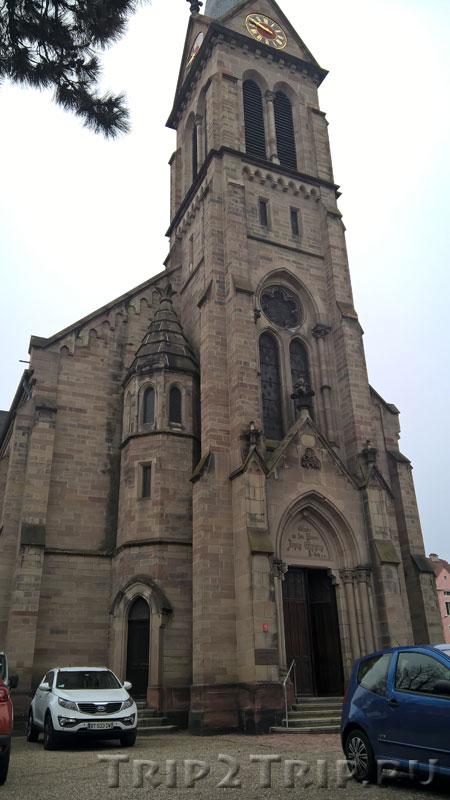 Церковь Сен-Поля, Мюлуз