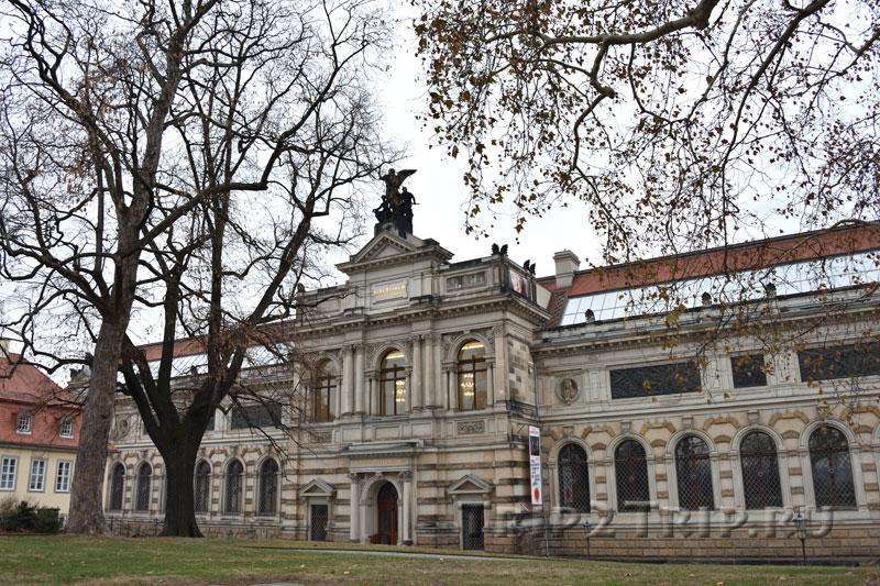 Альбертинум, Брюльский сад, Дрезден