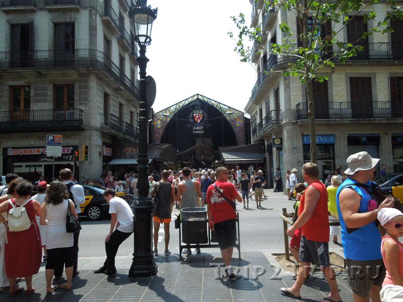 Рынок Бокерия, Рамбла, Барселона
