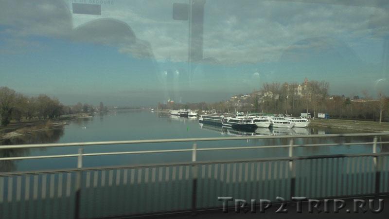 Брайзах-ам-Райн, панорама от Рейна