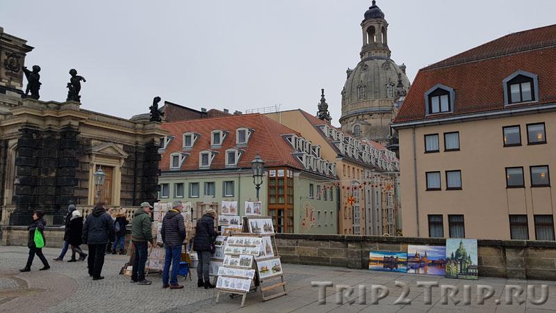 Терраса Брюля, Дрезден