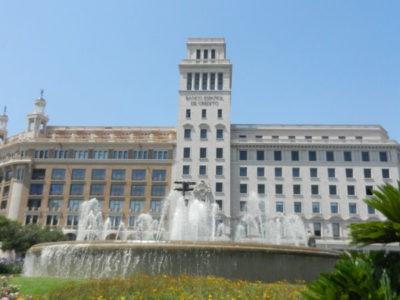 Испанский Кредитный Банк, Площадь Каталонии, Барселона