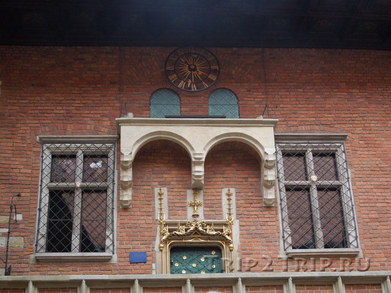 Часы, Ягеллонский университет, Краков
