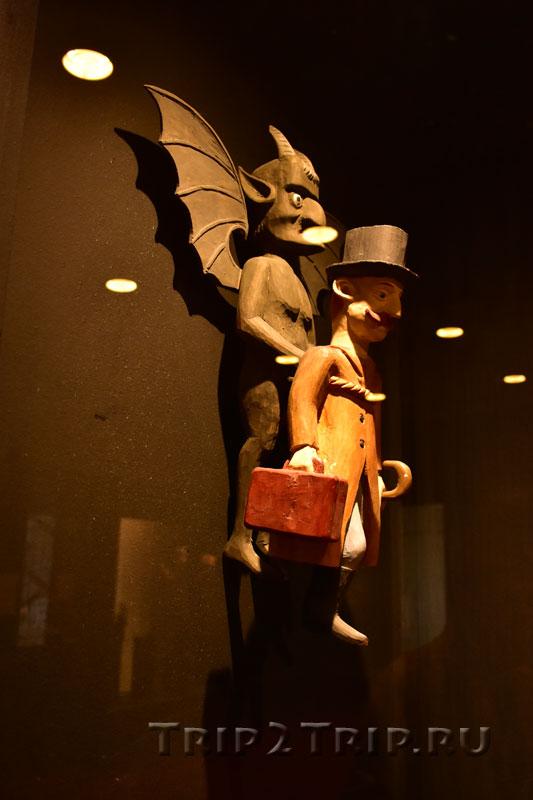 Экспонат из Музея чертей, Каунас