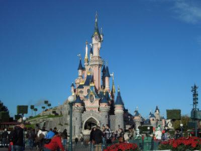 Замок Спящей красавицы, Диснейлэнд, Париж