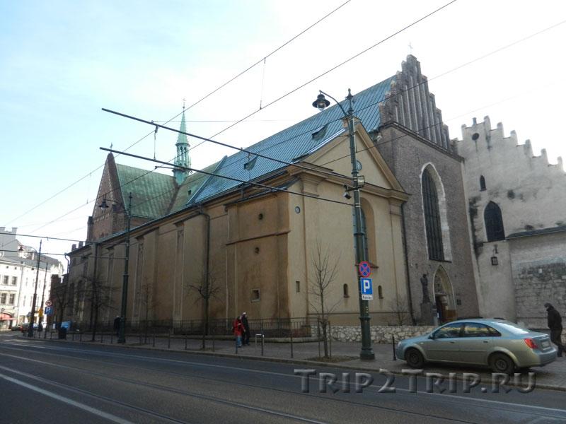 Костёл Святого Франциска Ассизского, Краков