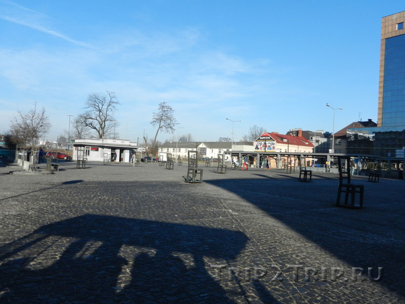 Площадь Героев Гетто, Краков