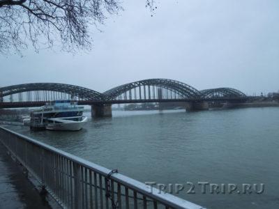 Мост Гогенцоллернов через Рейн, Кёльн