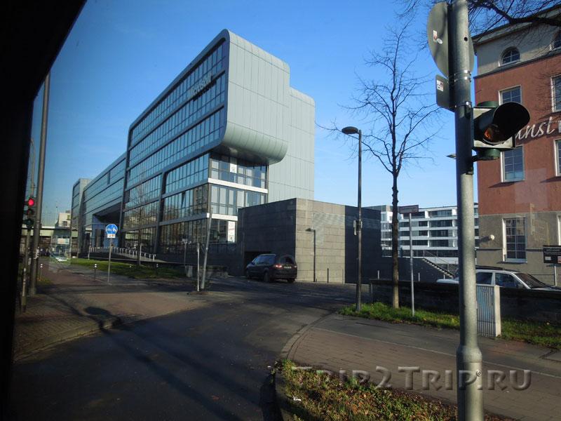 Немецкое отделение Microsoft. Райнаухафен, Кёльн