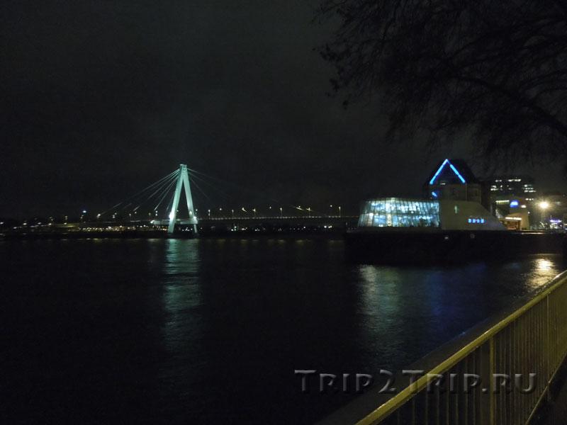 Музей шоколада и Мост Северина, Кельн