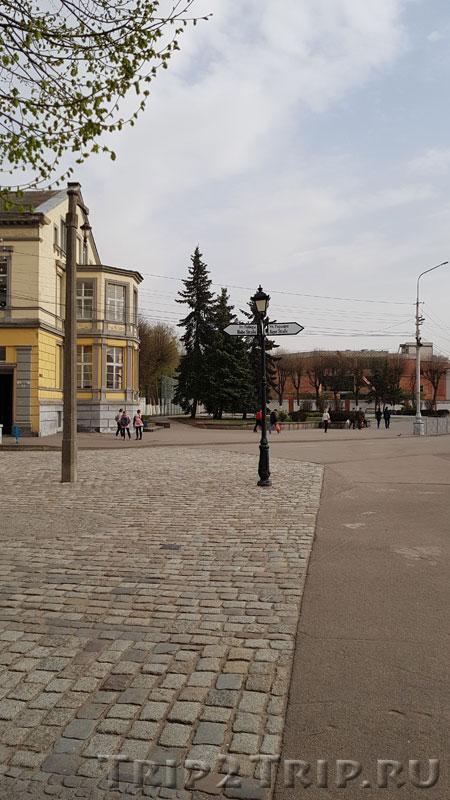 Улочка в самом центре Советска (Тильзита)