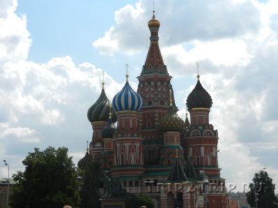 Собор Василия Блаженого, Красная площадь, Москва
