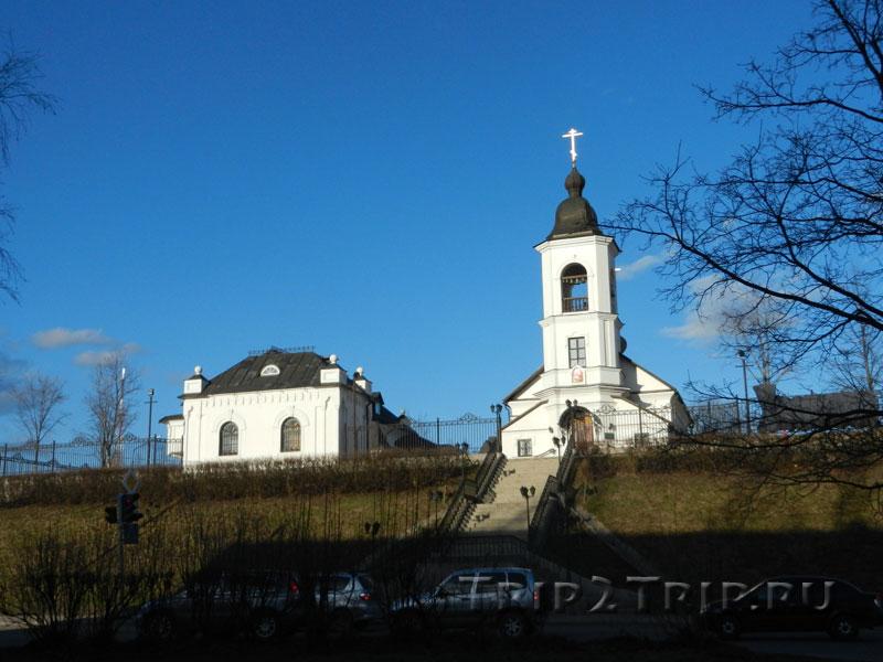 Свято-Ильинский храм и подворье, Выборг