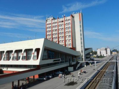 Железнодорожный вокзал, Липецк