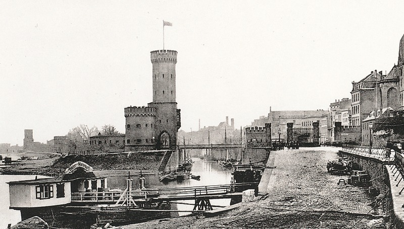 Башня Малакофф в 1884 году, Кёльн
