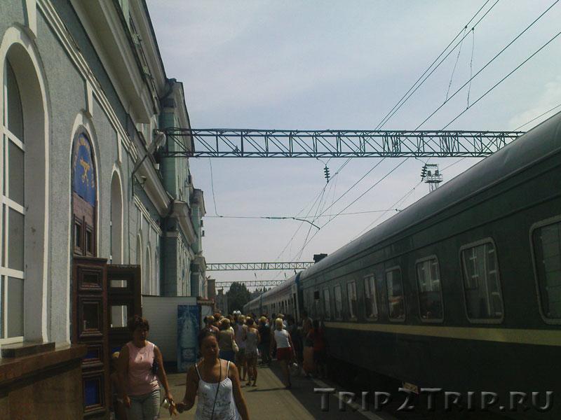 ЖД вокзал Мичуринск-Уральский, Мичуринск