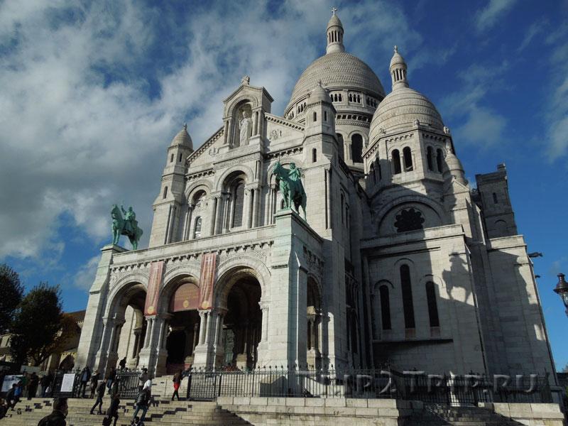 Базилика Сакре-Кёр, Монмартр, Париж
