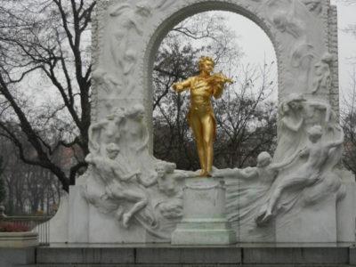 Памятник Иоганну Штраусу, Штадтпарк, Вена