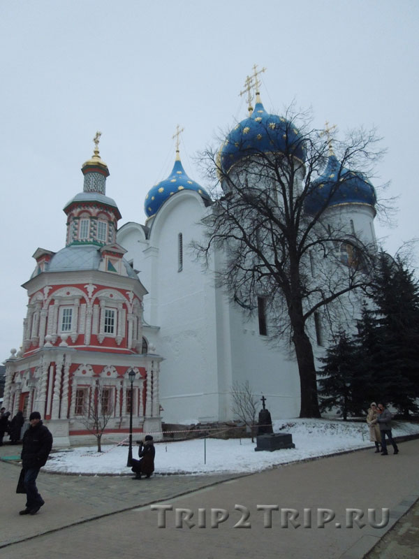 Успенский собор и Надкладезная часовня, Троице-Сергиева лавра, Сергиев-Посад