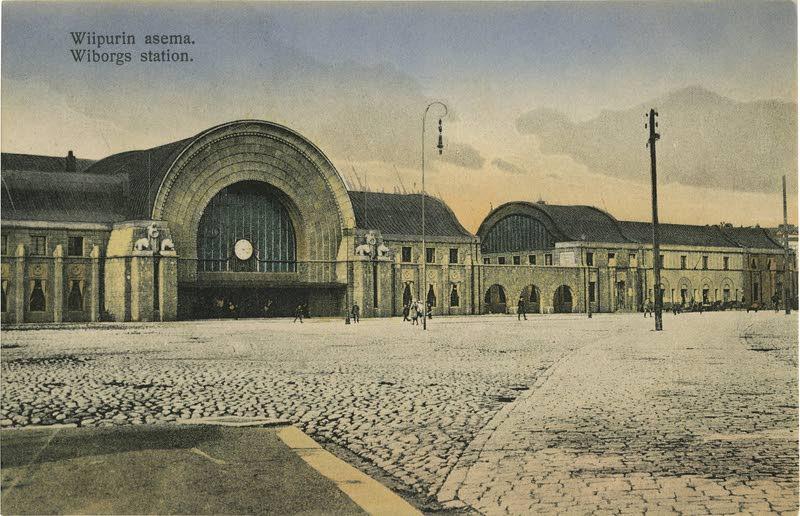 Предыдущий железнодорожный вокзал, Выборг