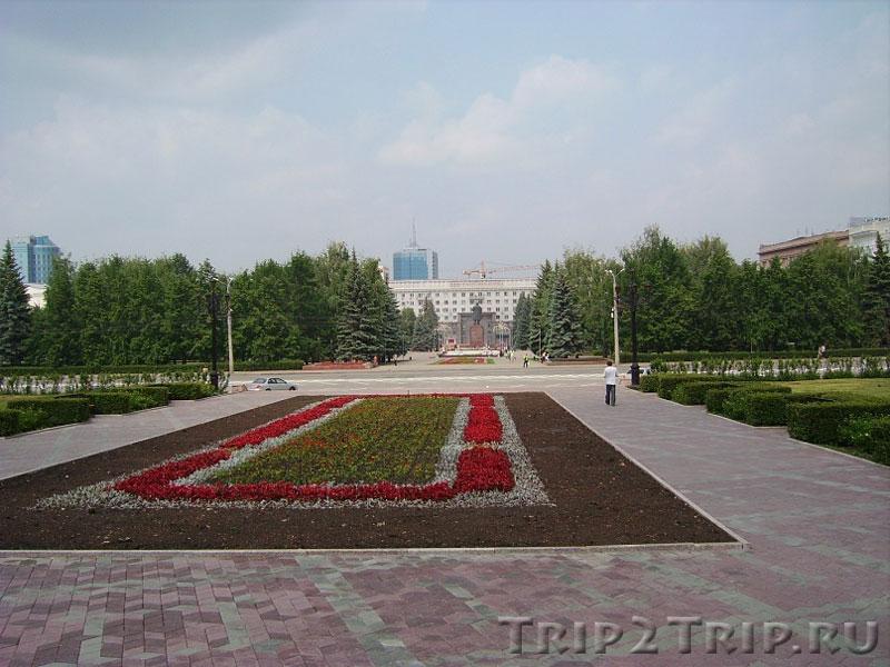 Сквер Революции, Челябинск