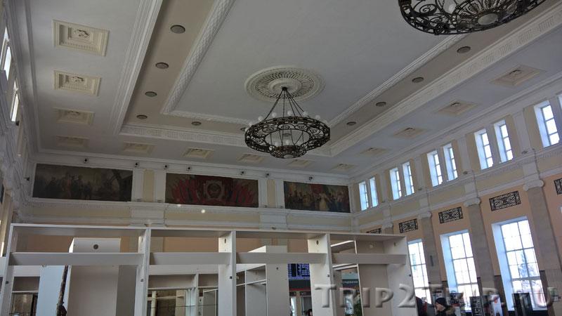 Главный зал Московского вокзала, Тула