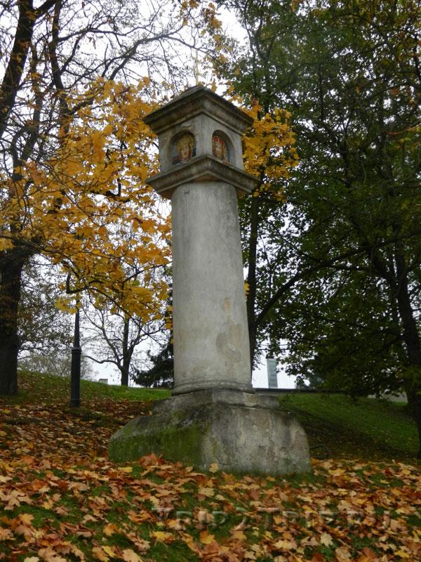 Чумной столб, Вышеград, Прага
