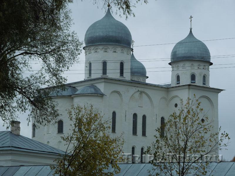 Георгиевский собор, Свято-Юрьевский монастырь, Великий Новгород