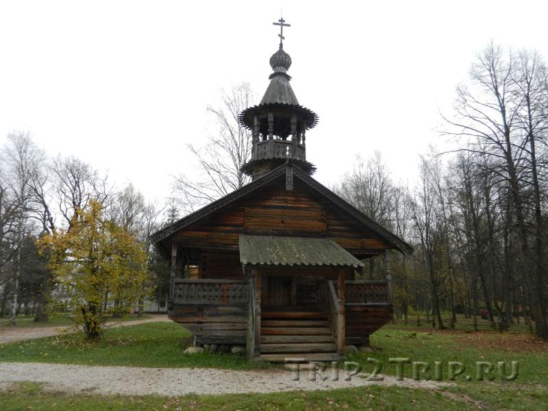 Часовня из деревни Кашира Маловишерского района, Витославицы, Великий Новгород