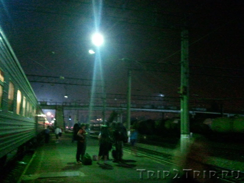 ЖД станция, Краснодар