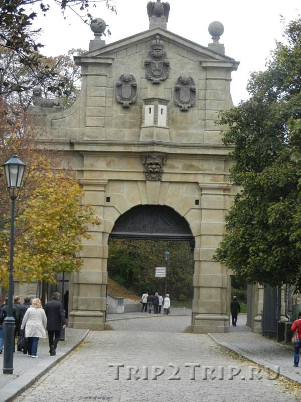 Леопольдовы ворота, Вышеград, Прага