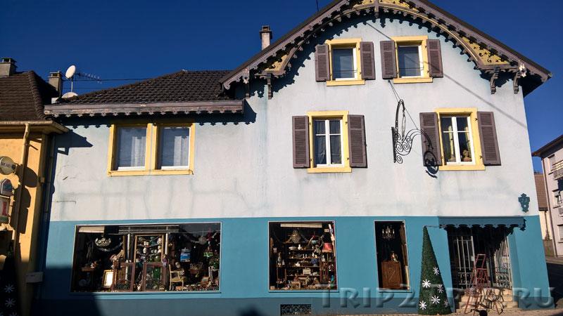 Милый домик в Люттербаке