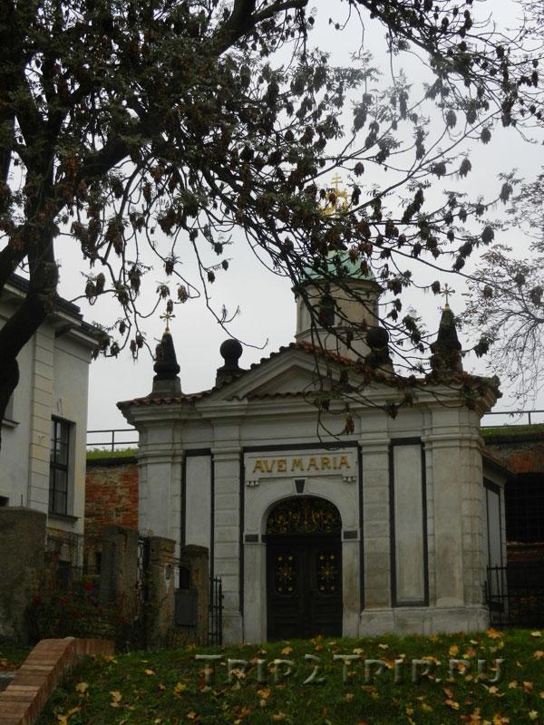 Часовня Девы Марии в стене, Вышеград, Прага