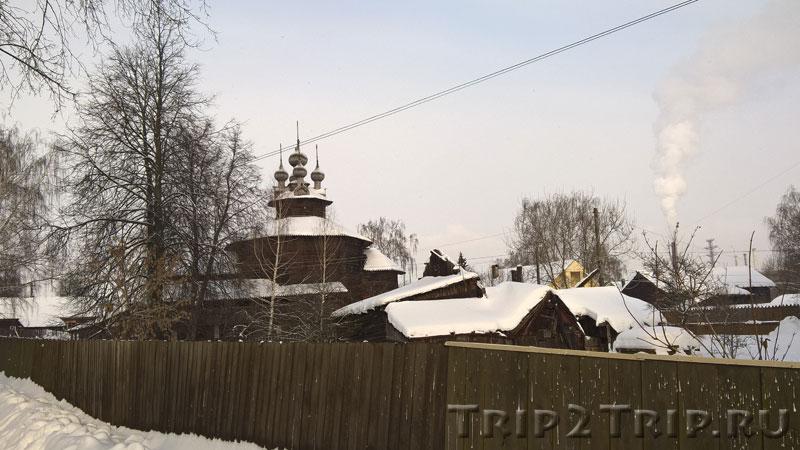 Церковь Собора Пресвятой Богородицы из села Холм, Кострома