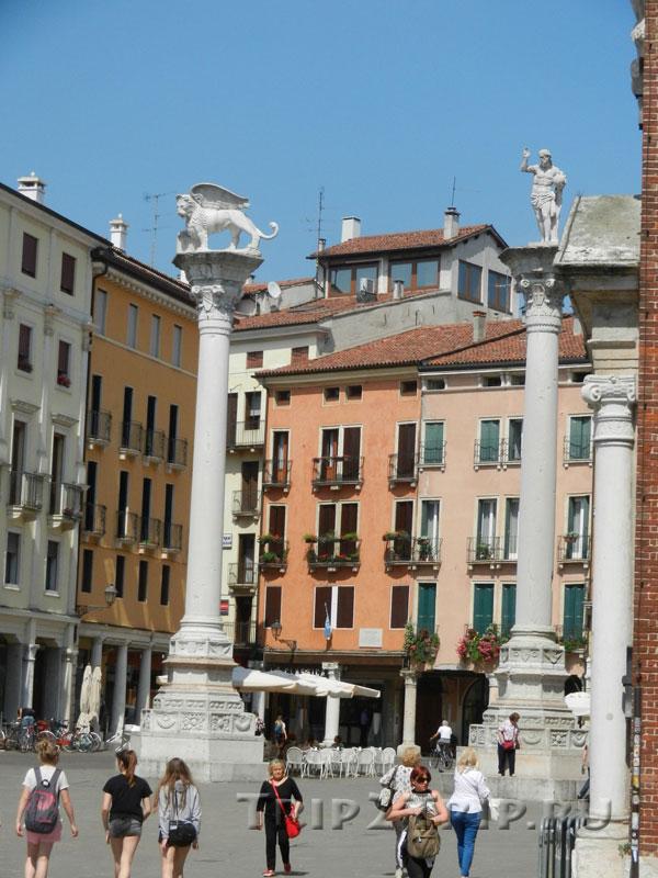 Колонны на площади Синьории, Виченца