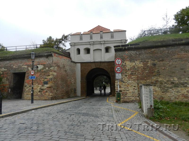 Таборские ворота, Вышеград, Прага
