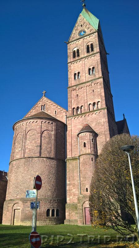 Апсида и колокольня базилики Сакре-Кёр, Люттербак