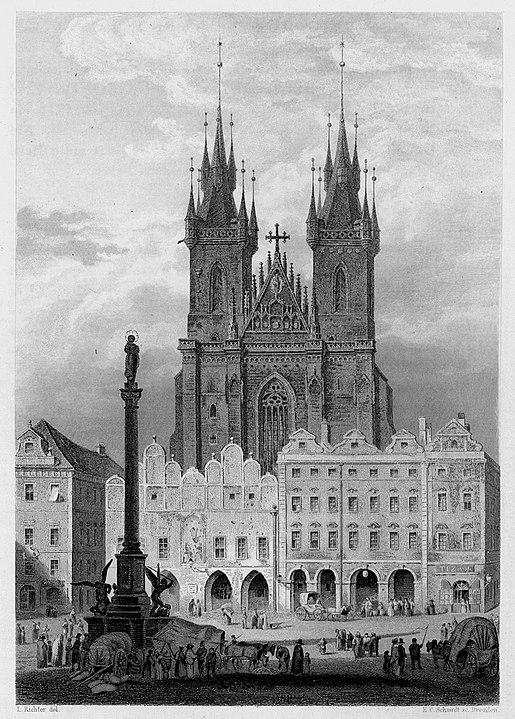 Марианский столб на Староместской площади, Прага