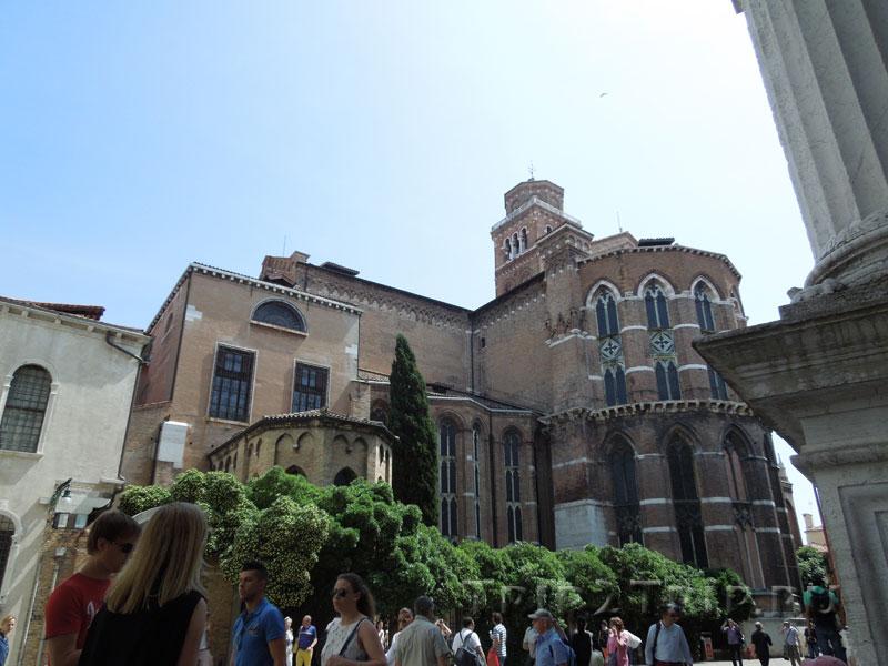 Апсида церкви Санта-Мария Глориоза деи Фрари, Венеция